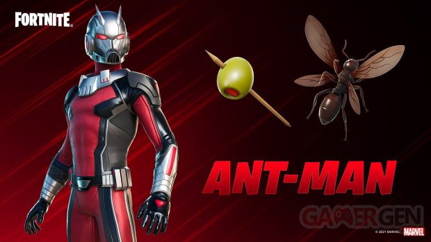 Fortnite Ant Man skin 07 03 2021