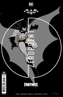 Fortnite Batman Zero Point comic cover premium