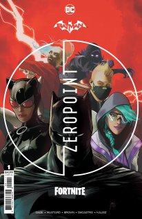 Fortnite Batman Zero Point comic cover