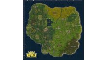 Fortnite Battle Royale Carte MAJ 2018