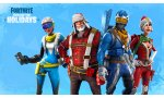 fortnite carte sous neige noel et saison 7 battle royale