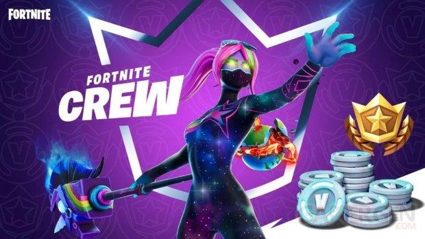Fortnite Crew abonnement prix