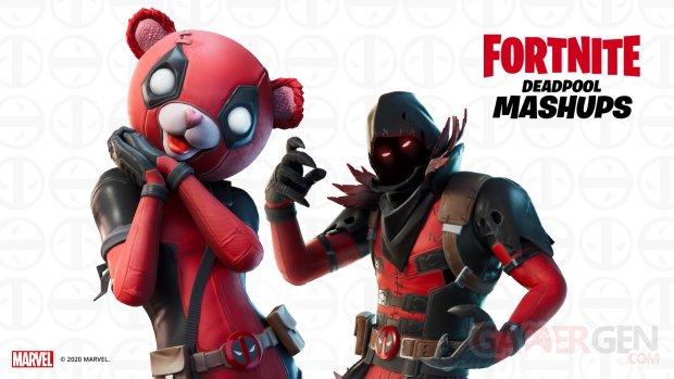 Fortnite Deadpool Mashups Cuddlepool Calinpool Ravenpool Corbeaupool