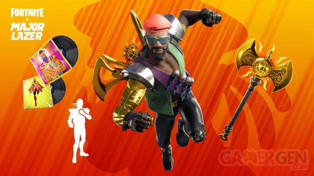 Fortnite Diplo Major Lazer skin