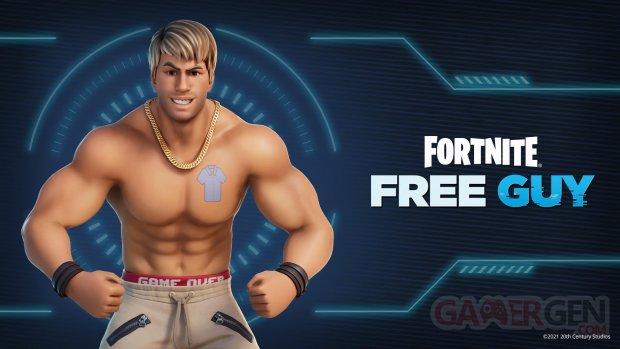 Fortnite Free Guy skin