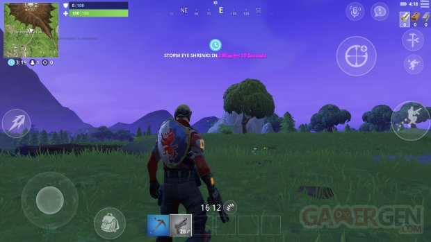 Fortnite interface personnalisable