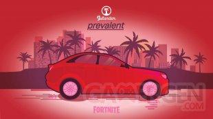 Fortnite Joyride Folle Virée voitures véhicules Prevalent
