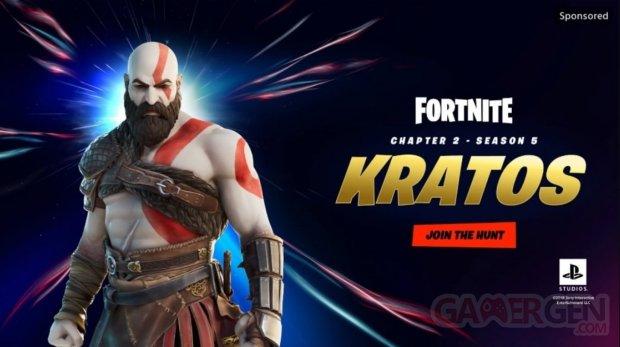 Fortnite Kratos God of War 02 12 2020