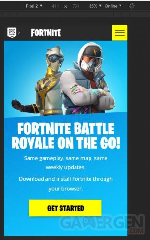 Fortnite Mobile on Android Google Play Store 5