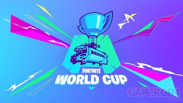 Fortnite World Cup logo head