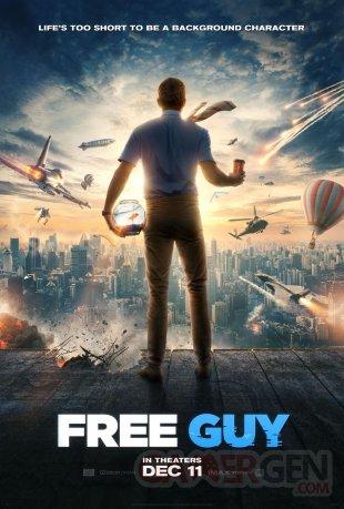 Free Guy affiche 05 10 2020