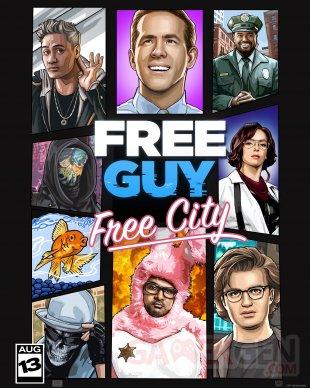 Free Guy Poster Affiche Jeu video parodie (1)