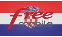 Free Mobile itinérance roaming Croatie