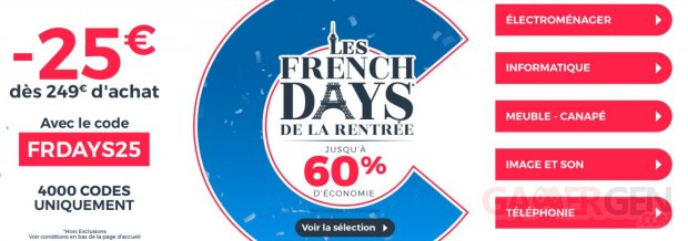 french days cdiscount 2