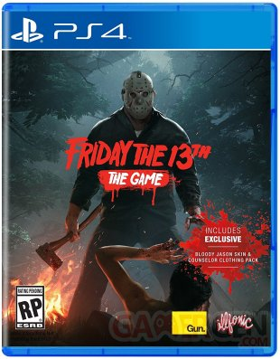 Friday the 13th The Game jaquette cover ps4 boite