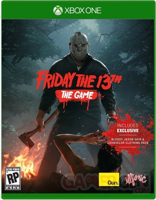 Friday the 13th The Game jaquette cover xbox one boite