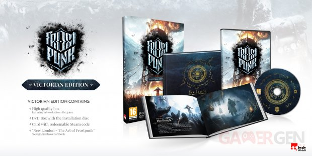 Frostpunk Victorian Edition collector