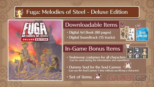 Fuga Melodies of Steel Deluxe Edition 14 06 2021