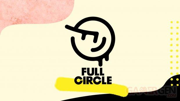 Full Circle logo head banner