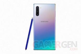 Galaxy Note10 ArgentStellaire Dos SPen