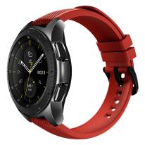 galaxy watch black 42mm red