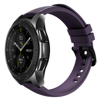 galaxy watch black 42mm violet