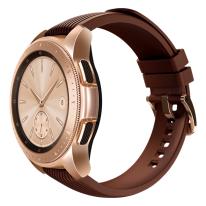 galaxy watch pink 42mm brown