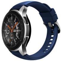 galaxy watch silver 46mm blue