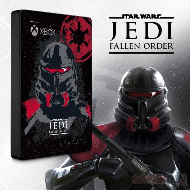 Game Drive Xbox Édition spéciale Star Wars Jedi Fallen Order (1)