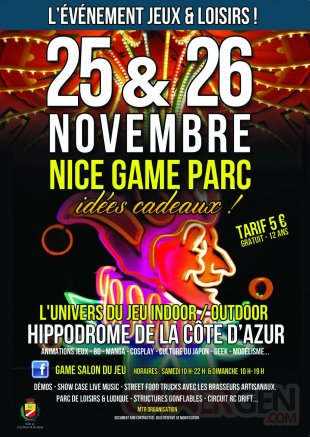 game flyers avec Cagnes