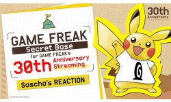 Game Freak 30th anniversary livestream 16 10 2019
