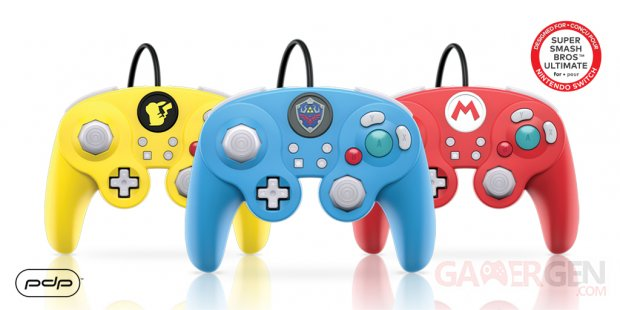 GameCube  switch manette pad mario zelda pikachu pdp images (1)