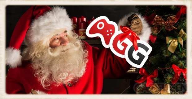 GamerGen logo vignette Noel fetes