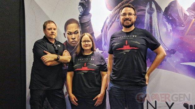 gamescom 2019 Bungie Destiny 2 interview.
