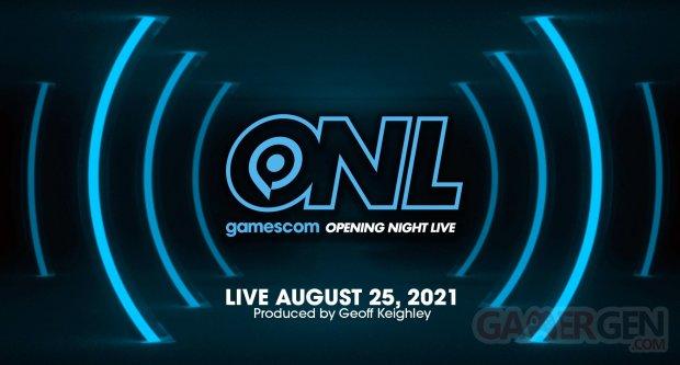 gamescom Opening Night Live 2021 logo