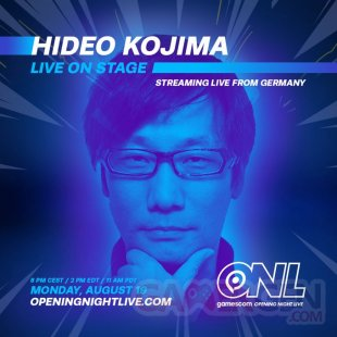 gamescom Opening Night Live Kojima 06 08 2019