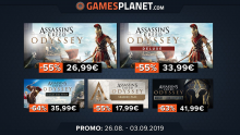 Gamesplanet Assassin's Creed Odyssey