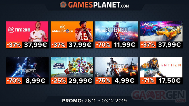 Gamesplanet Cyber Monday EA