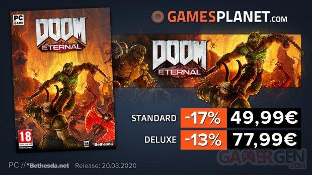 Gamesplanet DOOM Eternal 13 03 2020