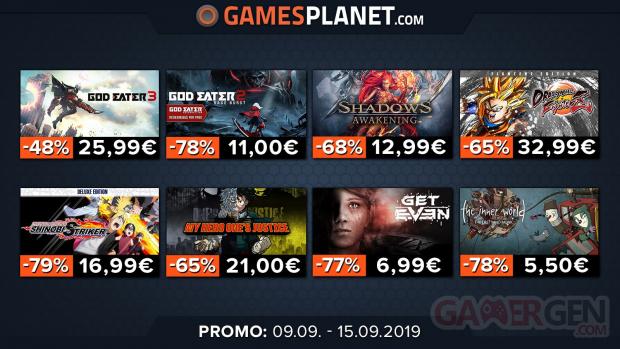 Gamesplanet jeux japonais promotion