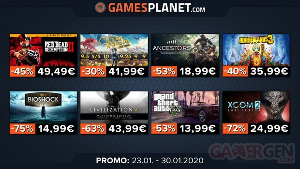 Gamesplanet promo 01 23 01 2020