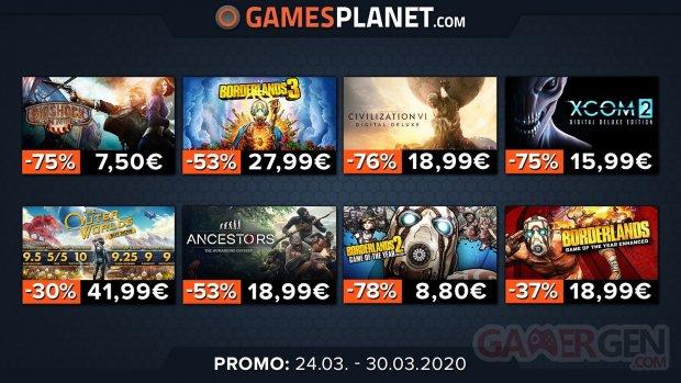 Gamesplanet promo 02 25 03 2020