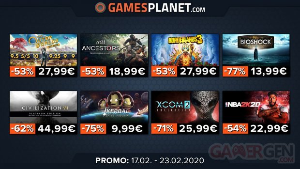 Gamesplanet promo 03 17 02 2020