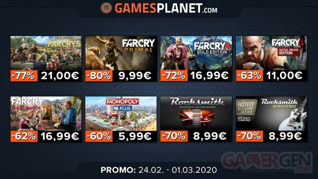 Gamesplanet promo 25 02 2020