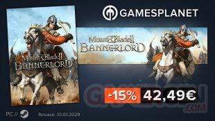 Gamesplanet promo Mount & Blade II Bannerlord 02 04 2020