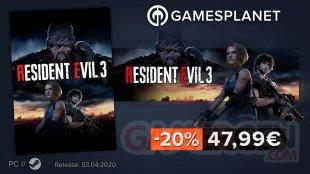 Gamesplanet promo Resident Evil 3 02 04 2020
