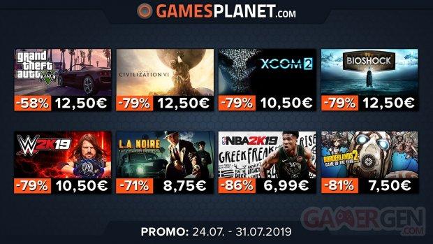 Gamesplanet soldes Rockstar 2K 27 07 2019