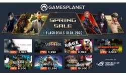 Gamesplanet Spring Sales 10 04 2020