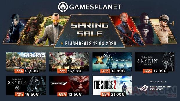 Gamesplanet Spring Sales 12 04 2020