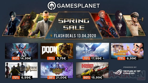 Gamesplanet Spring Sales 13 04 2020